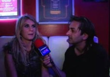 Ashleigh K behind the scenes Nightmare Video Interview by Tony James